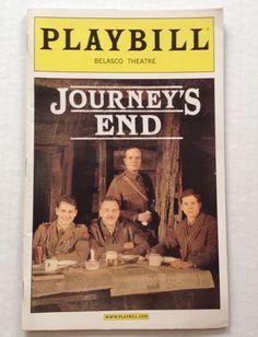 Playbill Journeys End Belasco Theatre March 2007 Hugh Dancy Boyd Gaines