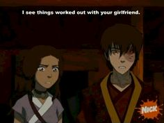 I'm taking this is proof. Zuko knew what June was talking about, but Katara didn't.