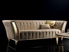 Stylish 44 Amazing Sofa Design Ideas To Try Right Now. Living Room Sofa Design, Home Room Design, Bed Design, Living Room Designs, Sofa Table Design, Sofa Furniture, Luxury Furniture, Living Room Furniture, Living Room Decor