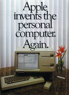 Apple Lisa Advertisement - 1983