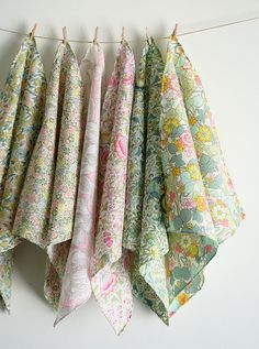 Molly's Sketchbook:  Mother's Day Liberty of London Handkerchief Set by the purl bee, via Flickr