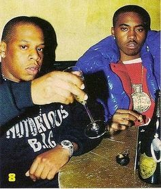 Everything about this is right. Jay-Z Nas