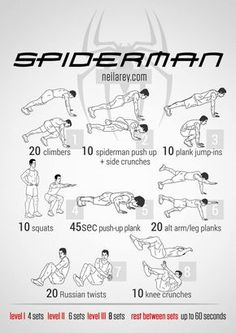 Spiderman Workout