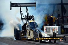 Tony Schumacher & Team Racing at the 2015 Carolina Nationals at Zmax Drag Way in the U.S. Army Nitro Dragster