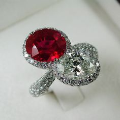 The Magic Of Burma Ruby . Prima Gems.