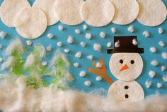 Krajobraz zimowy z waty – prosta do wykonania plastyczna praca na zimę. Christmas Tree, Play, Holiday Decor, Teal Christmas Tree, Xmas Trees, Christmas Trees, Xmas Tree