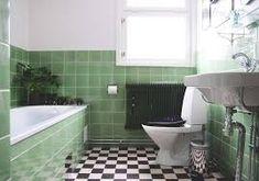 grönt kakel badrum - Sök på Google