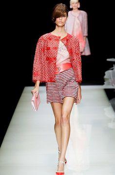Неделя моды в Милане: показ Giorgio Armani. Фото