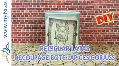Diy, Canning, Youtube, Projects, Recycle Cans, Recycled Tin Cans, Canisters, Recycling, Manualidades