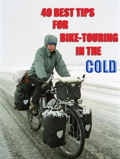 Tips for bike touring in the cold weather