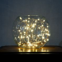 Image result for fairy lights centerpieces