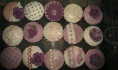 My take on vintage cupcakes.