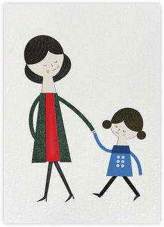 Mom and Me (Blanca Gomez) - Paperless Post