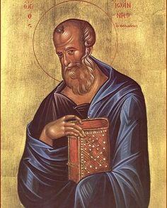 Святой апостол и евангелист Иоанн Богослов - Воскресенский храм ...