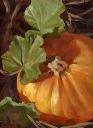 pumpkin paintings acrylic - Google Search