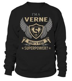 I'm a VERNE - What's Your SuperPower #Verne