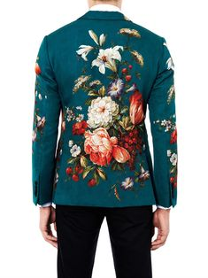 Floral-print single-breasted jacket | Dolce & Gabbana | MATCHESFASHION.COM €1475