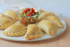 Empanadas horneadas – Boulangerie et Pâtisserie Tacos, Chicken, Meat, Fruit, Ethnic Recipes, Food, Fancy, Egg Salad, Vegetable Salads