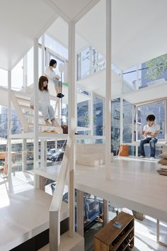 Built in Tokyo, this utterly unique house seems to be almost more of a vertical sculpture than a place of living, set among more conventional dwellings on a busy...