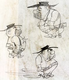 Character from a Bar-S Meats commercial produced by Ray Patin Productions (ca. 1950s) designer: unknown