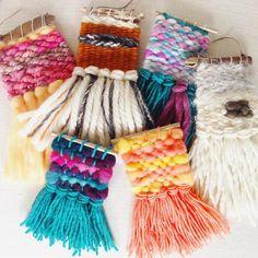 Inspo: Tiny Weavings (@needleandknot) • Instagram