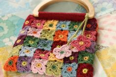 Crocheters Anonymous©: Blossoming Bag
