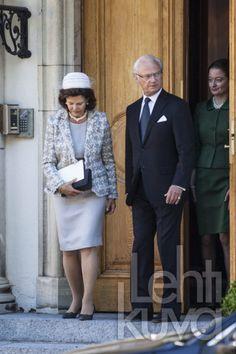 08 SEPTEMBER 2013  Swedish Royal Family Swedish Royal Family  attended a memorial service for Princess Lilian at the English Church in Stockholm.