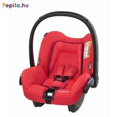 Maxi-Cosi SPS2 babahordozó és autósülés megújult, megerősített vázszerkezettel, aminek a súlya mégis könnyebb, mint elődjeinek. 2006-ban az ADAC, ÖAMTC és TCS gyerekülés teszteken 4*-ot kapott.    Jellemzői:  - Autóba való rögzítése az autó 3-pontos biztonsági övével  - A baba születésétől 1 éves koráig vagy 13 kg súlyhatárig használható  - SPS: Side Protection System - beépített oldalvédelem  - Extra puha szűkítőpárna újszülötteknek  - Belső 3 pontos biztonsági öv  - Párnázott övek… Maxi Cosi Citi, Red Orchids, Baby Car Seats, Products, Gadget