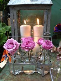 lecheras con flores