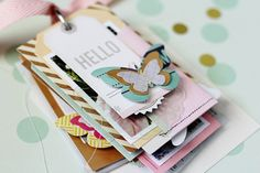 Minimal design can encompass an array of project ideas, including mini albums. One such example of simplicity at it's finest is this Notes & Things Mini Album from CP Gal, Adrienne Alvis. ....... Hello CP fans! Lately, I've been striving...