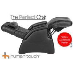 C A De Bac E E C Bf E Bonded Leather Black Leather on Human Touch Zero Gravity Chair Costco