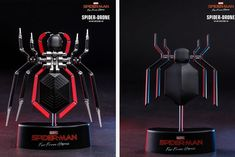 Hot Toys Recreates Spider-Man's Life-Sized Spider-Drone from 'Far From Home' Spiderman Lego, Spiderman Spider, Spider Man New Suit, Drones, Armadura Cosplay, Star Wars Light, Iron Man Wallpaper, Hongkong, Spider Man