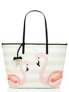 Kate Spade Strut Your Stuff Flamingo Harmony Baby Bag Flamingo Multi