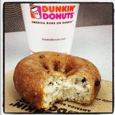 Blueberry cake donut = AM bliss!