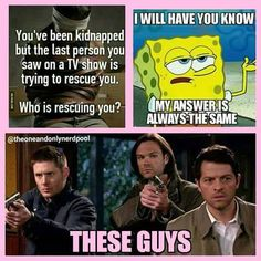 Watching Supernatural right now lol (rewatching actually... 9x10)