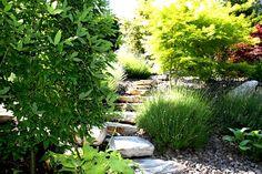 bi-level YARD  landscaping pictures   2771 Lakeridge Rd. Kelowna, BC