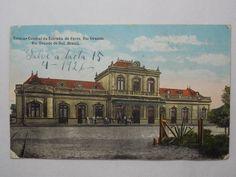 Brasil - Cartão Postal - Estação da Estrada de Ferro - ..