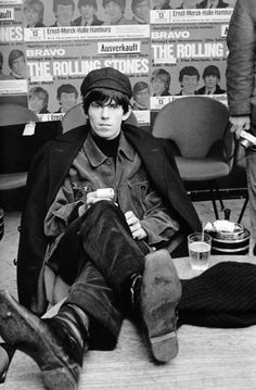 Keith Richards; captured by Bent Rej (1965)  #TWProject91OR