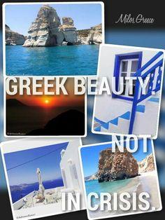 GREEK BEAUTY. NOT IN CRISIS (GREECE)