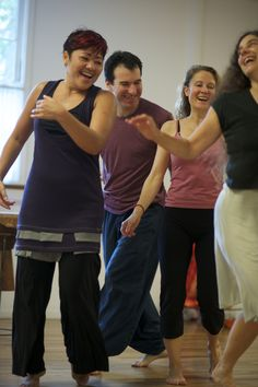 Happy 10 year anniversary to our Waves Journey class! A decade of dancing together!  Photo by Amir Magal.