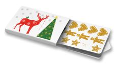 Markéta Jinochová - Jelen #roe #christmas #vánoce #blahopřání #GreetingCard  #ChewingGums #Žvýkačky