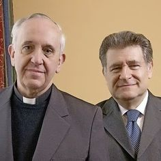 (left, Archbishop Bergoglio with his handler Rabbi Abraham Skorka) The great Kahal of New York relentlessly develops its strategy and executes its policies in conjunction with Tel Aviv. The other great Kahal in the Americas operates in Argentina, which outside Israel, harbors the second largest Jewish population in the world, estimated at