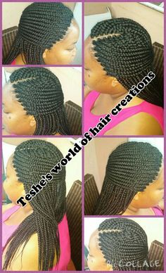 The box braids are soo clean & neat.