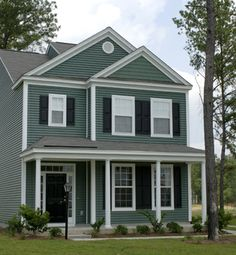 Norandex Great Barrier Vinyl Siding In Evergreen Adds Vibrant Color To This Southern Neighborhood Www
