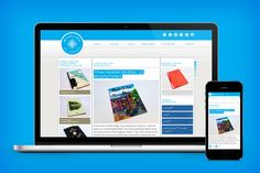 Blueline by Domtar website » Website design and development by Squires & Company