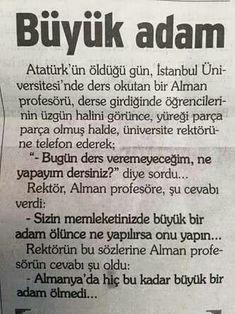 Alman profesör Republic Of Turkey, Turkish People, Turkish Army, Turkish Language, The Turk, Great Leaders, Nostalgia, Photo And Video, Writing