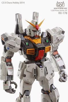 GUNDAM GUY: Prime Series: PO1 1/28 RX-178 Gundam Mk-II (Garage Kit) - Official Images