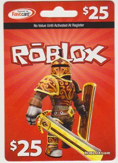 Roblox Gift Card. Want one so bad!