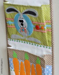 Добрые поделки Антонцевой Татьяны: Кармашки для детского сада №2
