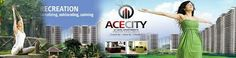 Smart Option For investment In Real Estate ACE City Greater Noida Call @ +91-9555009900